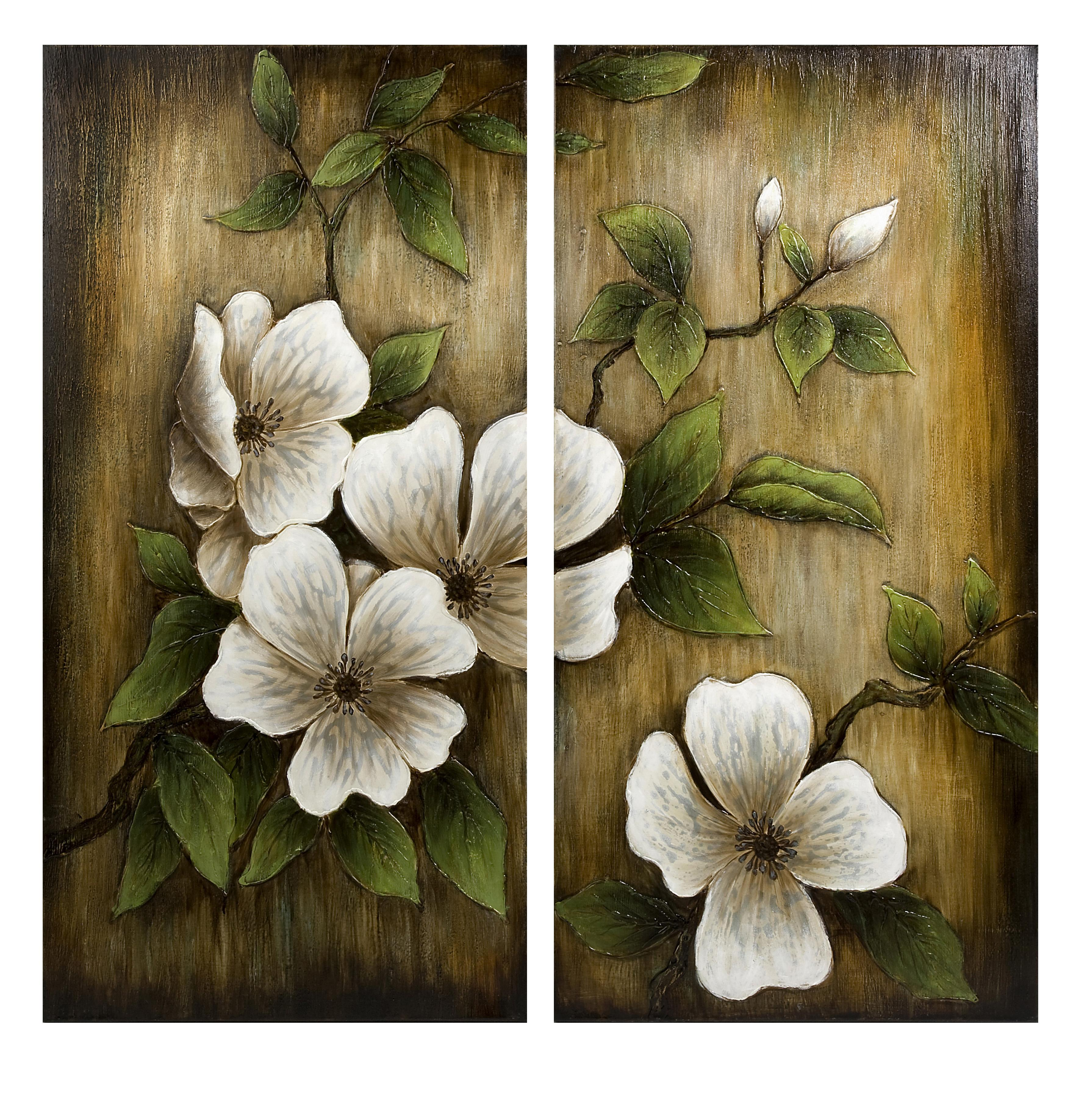Beautiful Flower Group Oil Painting